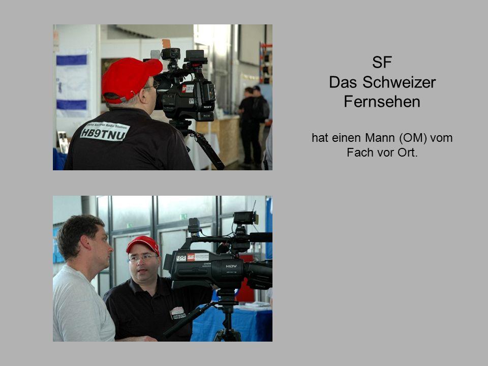 SF Das Schweizer Fernsehen hat einen Mann (OM) vom Fach vor Ort.