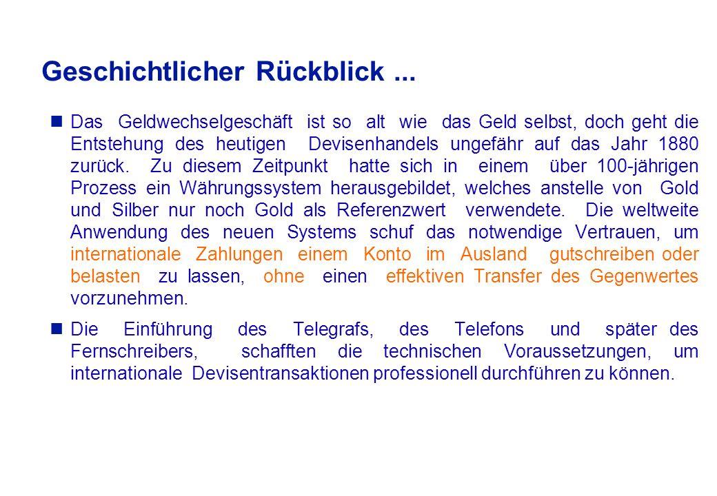 13:00 - 13:45 Uhr amtliche Devisenbörse in Frankfurt a.M.