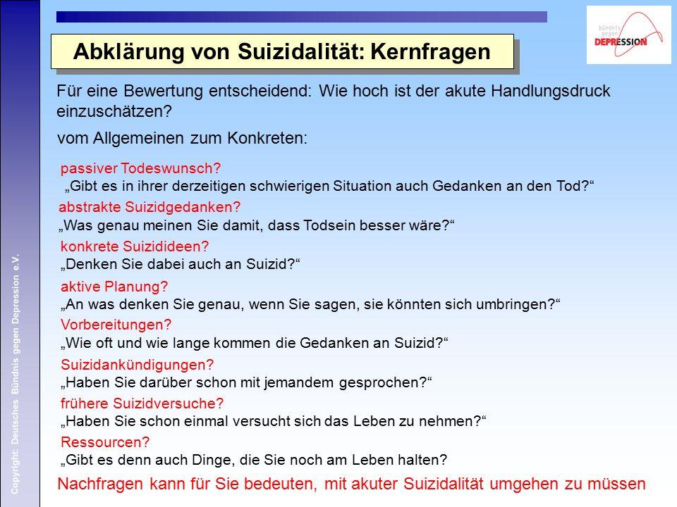 Copyright: Deutsches Bündnis gegen Depression e.V.