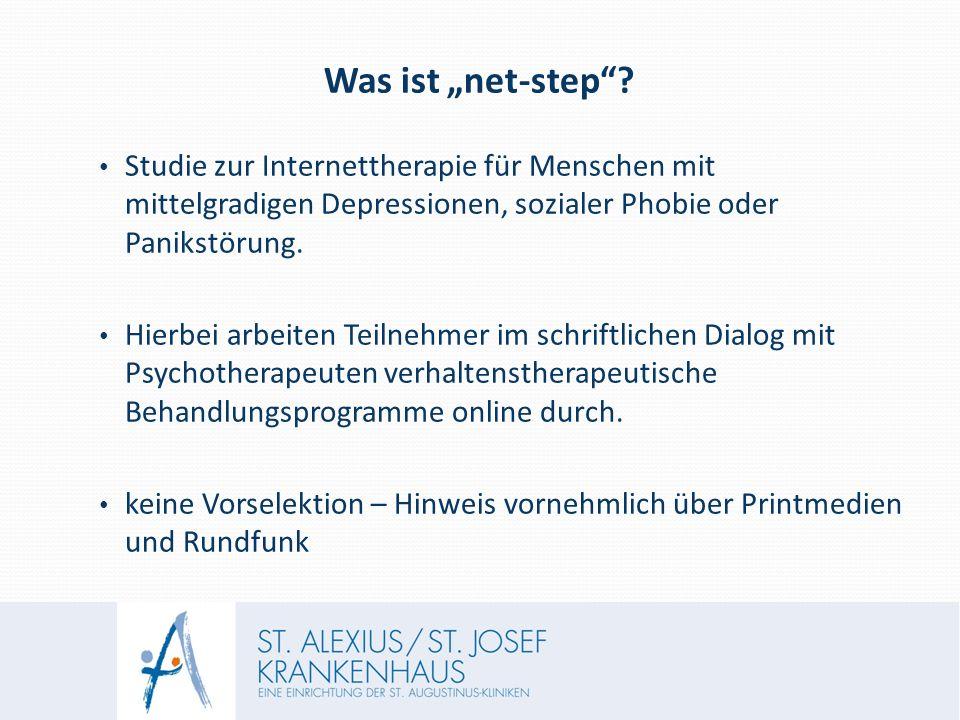 """Was ist """"net-step ."""