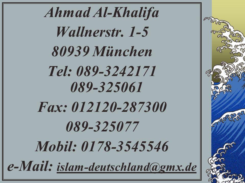 Ahmad Al-Khalifa Wallnerstr.