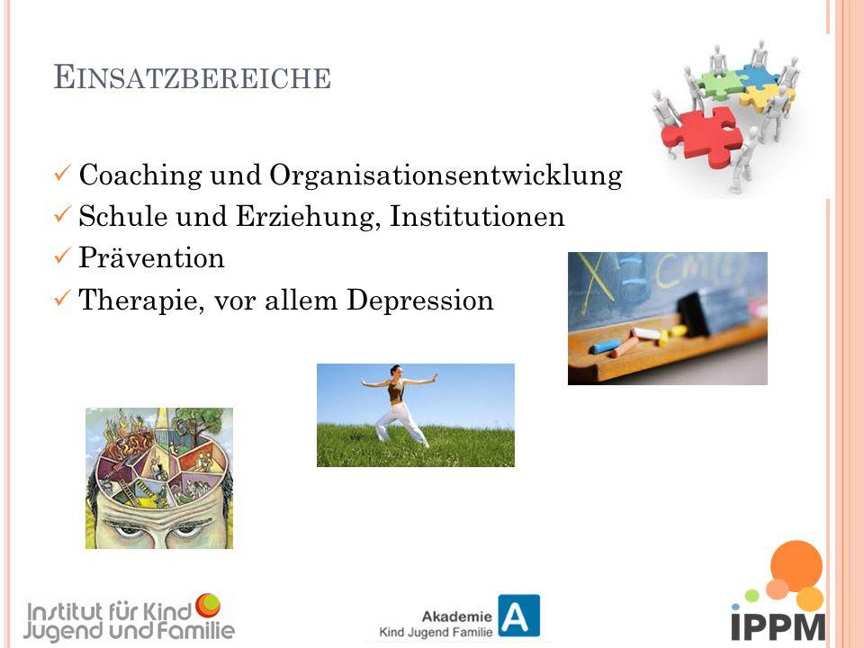 Coaching und Organisationsentwicklung Schule und Erziehung, Institutionen Prävention Therapie, vor allem Depression