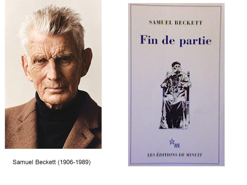""""""" Samuel Beckett (1906-1989)"""