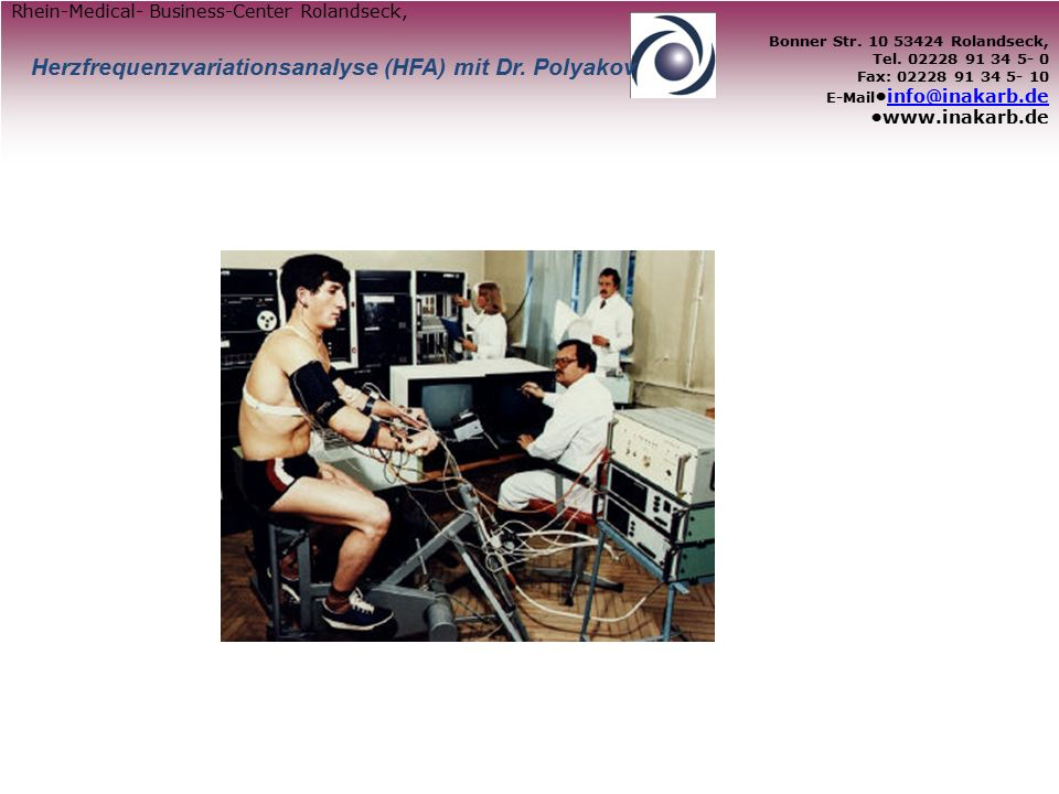 Behandlungsbeispiele – HFA 3 Monate nach Behandlung: optimale Regulationswerte, OP wurde nie durchgeführt vor Behandlung: Patientin mit Uterus-CA, Unterleibs-OP anstehend