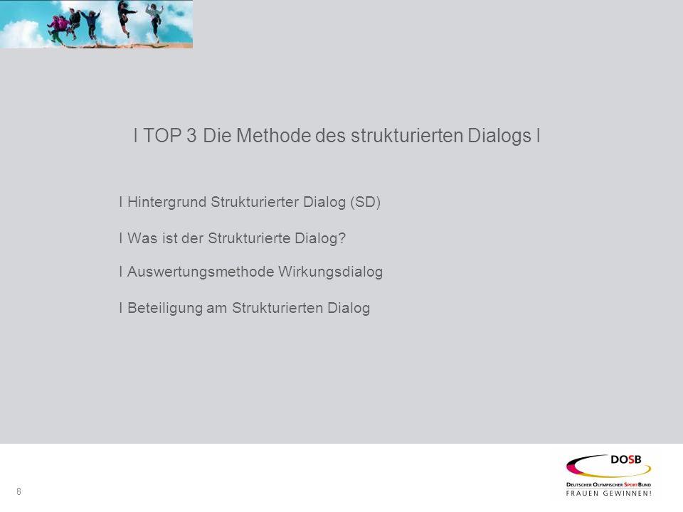 8 I Hintergrund Strukturierter Dialog (SD) I Was ist der Strukturierte Dialog.