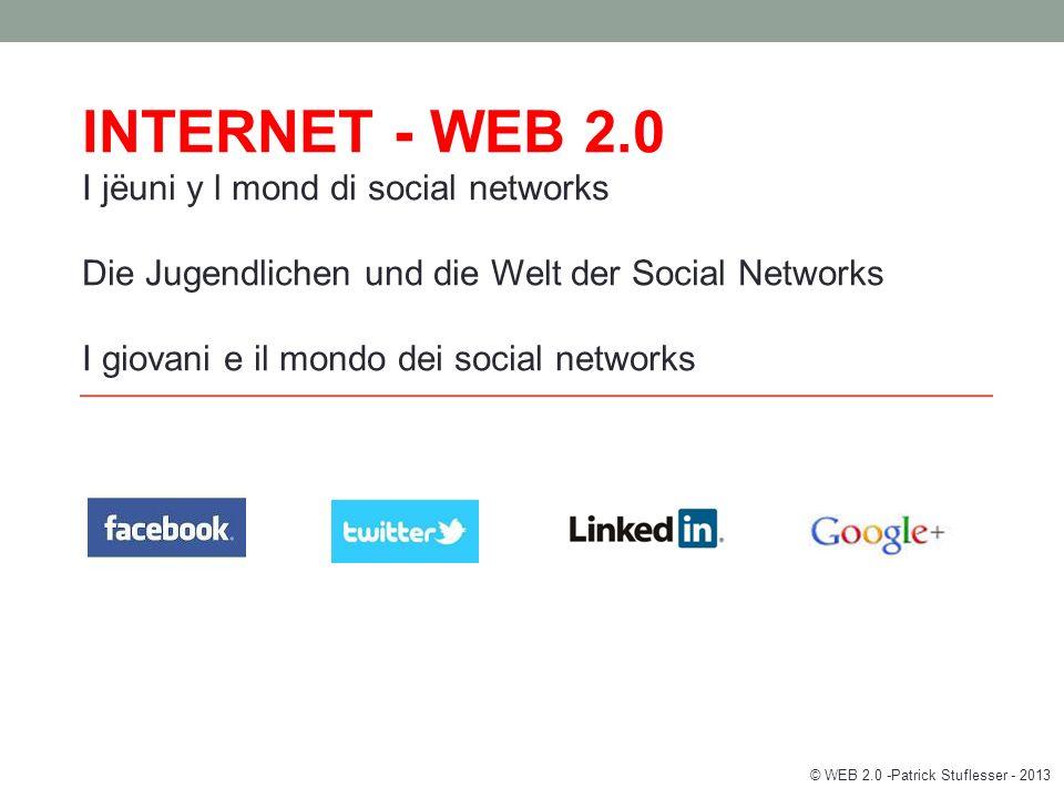 Wo lebst du…… – Virtuelle Welt © WEB 2.0 -Patrick Stuflesser - 2013