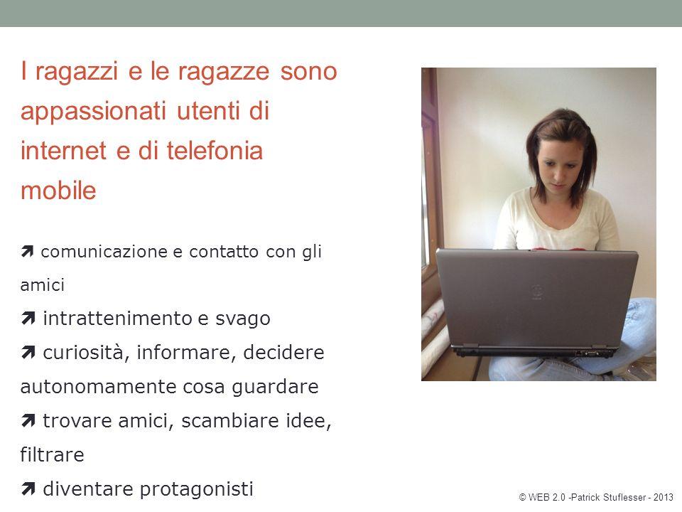 Das größte Risiko von Internet und Handy für unsere Kinder/Jugendlichen ist es, … © WEB 2.0 -Patrick Stuflesser - 2013