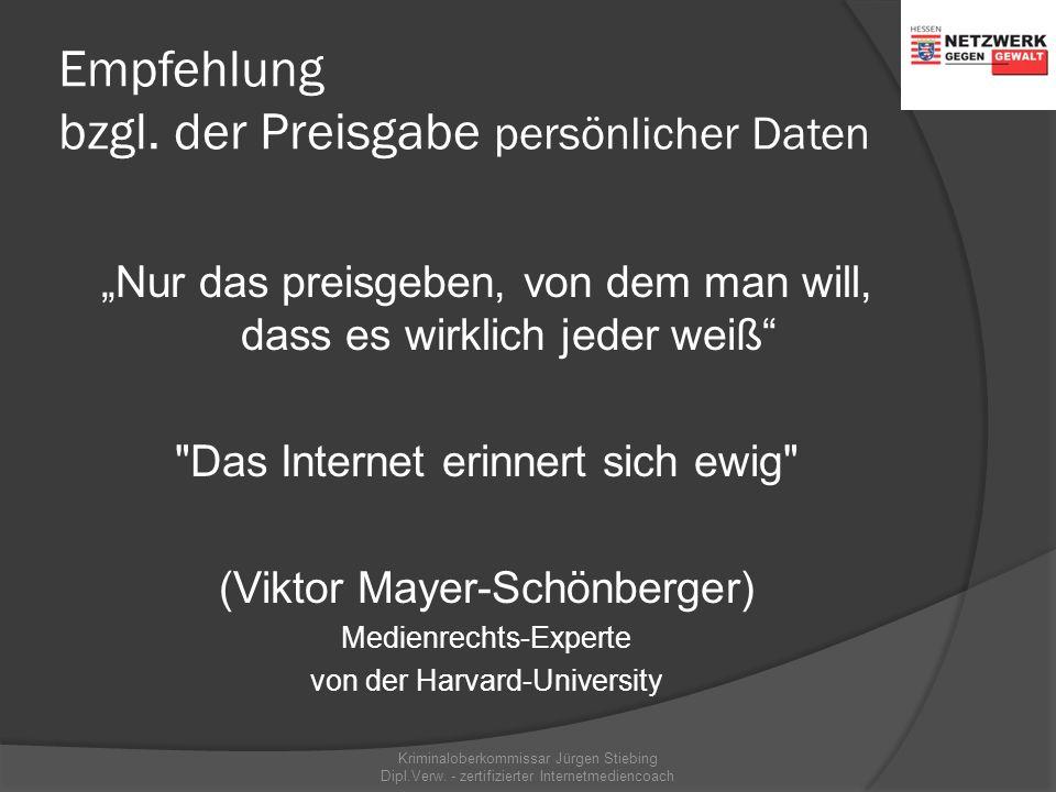Preisgabe persönlicher Daten am Beispiel SchülerVZ  größtes deutsches Onlinenetzwerk für Schüler ab 12 Jahre: 3,5 Millionen Mitglieder Mai 2008  111