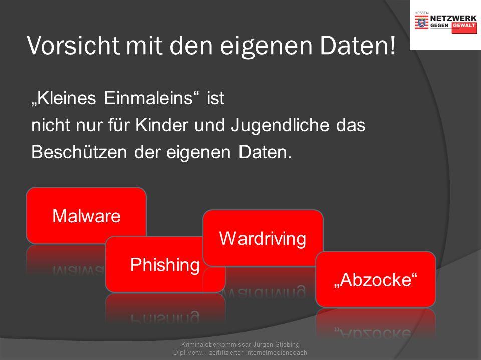 Das kann passieren… Kriminaloberkommissar Jürgen Stiebing Dipl.Verw. - zertifizierter Internetmediencoach
