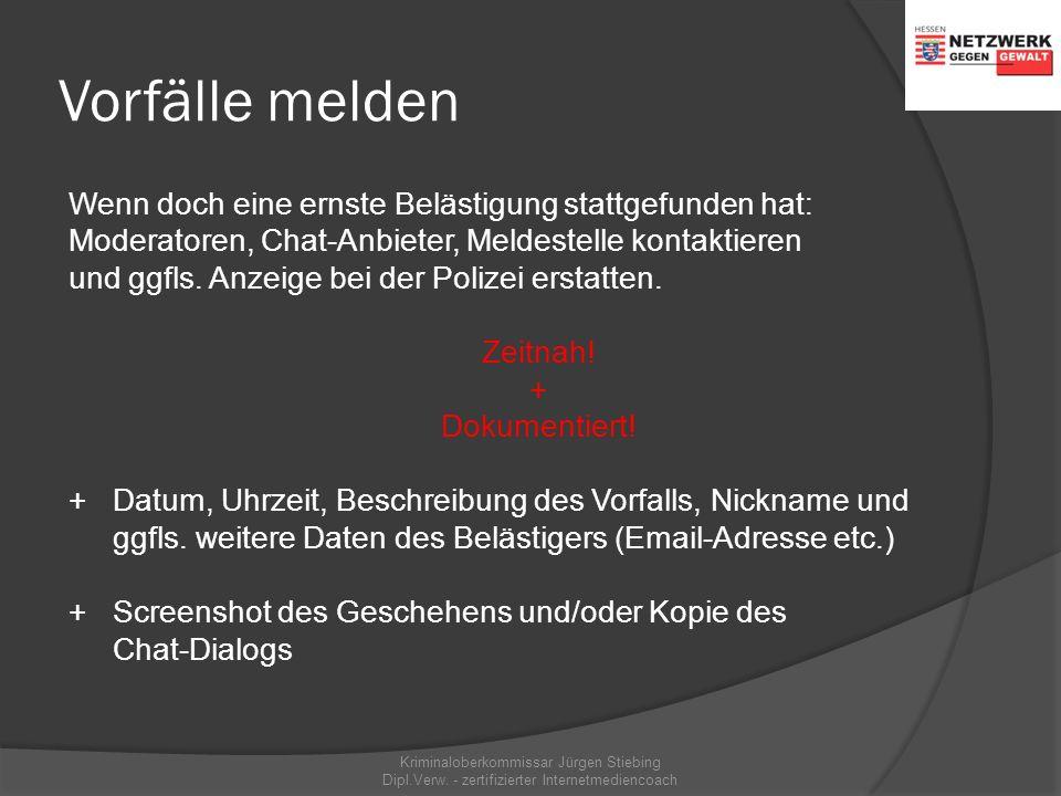 Chats mit hohem Risiko wwww.knuddels.de wwww.chat4free.de FFür Kinder und Jugendliche nicht geeignet! Mit sexuellen Belästigungen und Übergriffe