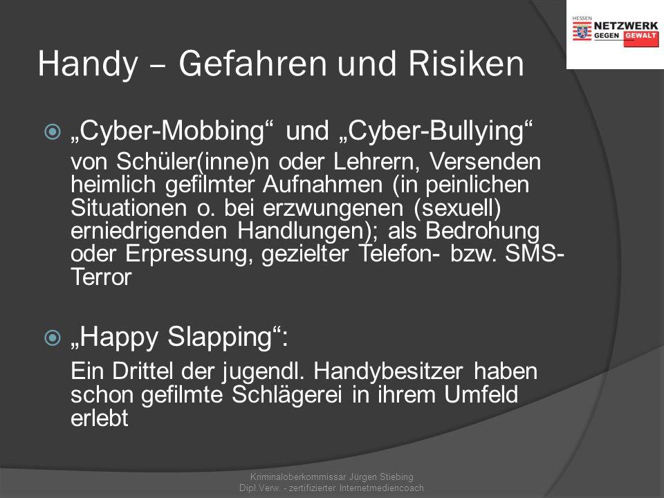 """Handy – Gefahren und Risiken  """"Abzocke"""" via Handy: hat jeder zehnte jugendl. Handybesitzer schon erlebt (Kaufangebote, Abo-Fallen, teure Rückrufnumme"""