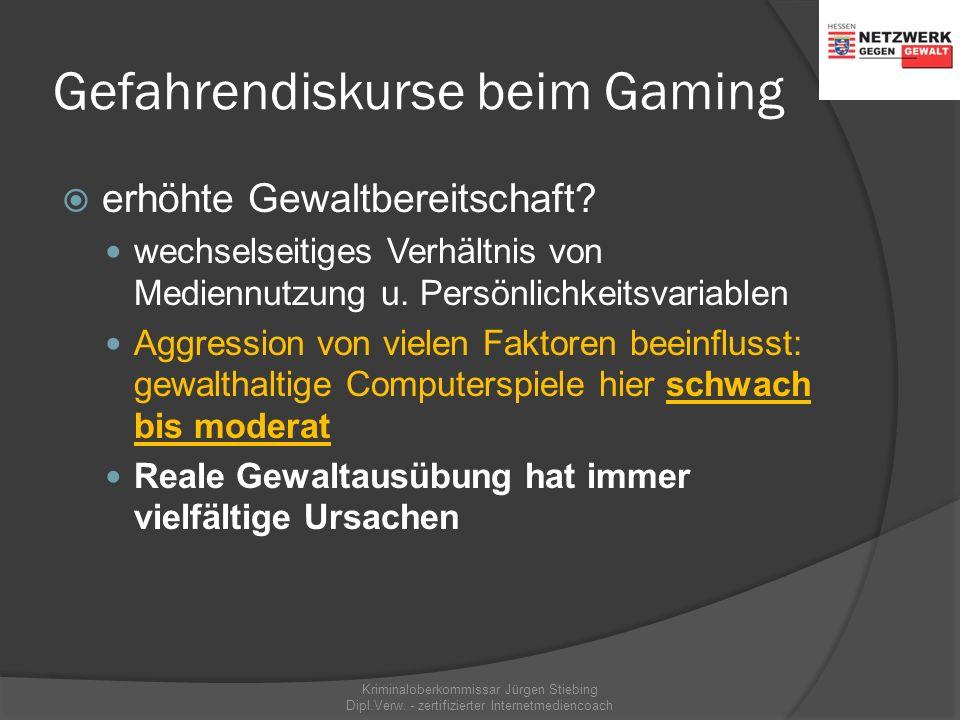 Computerspiele / Gaming  suchtähnliches Verhalten? Kontrollverlust über eigenen Spielkonsum? Vernachlässigung anderer Interessen? Entzugserscheinunge