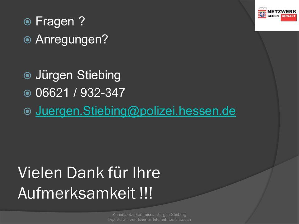 Hilfe und Beratung - Prävention Internetadressen/Links  www.polizei-beratung.de www.polizei-beratung.de (Programm Polizeiliche Kriminalprävention der