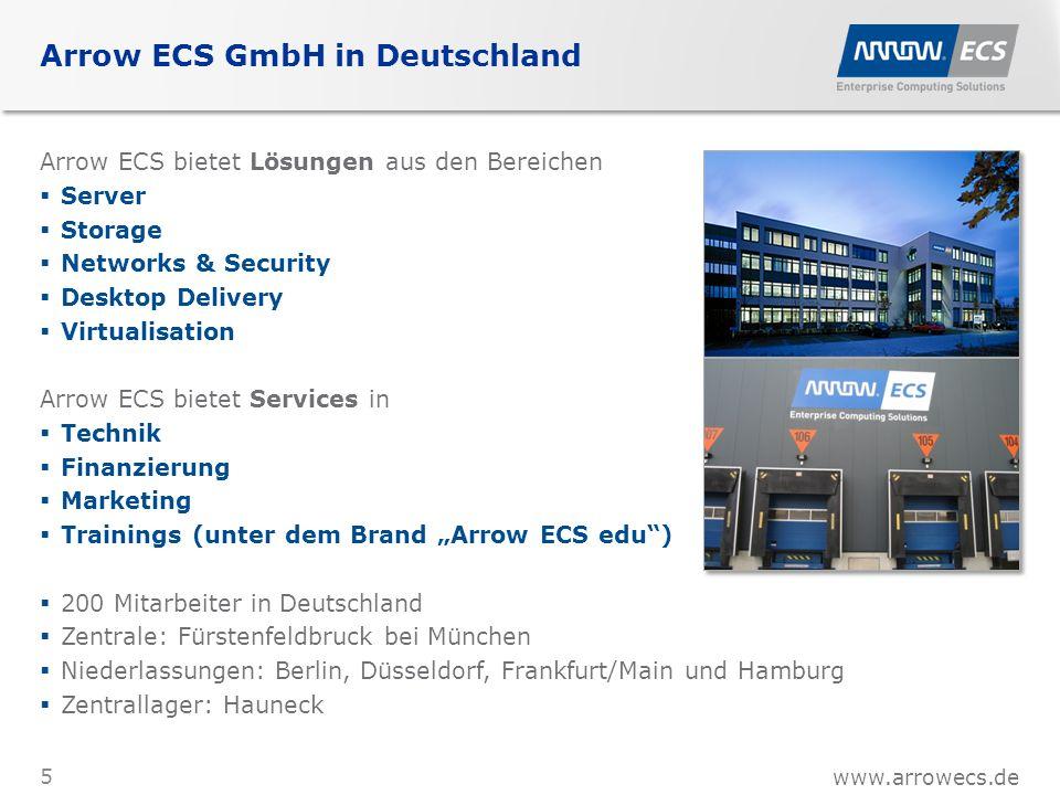 www.arrowecs.de Unser Selbstverständnis Geschäfte werden unter Menschen gemacht.