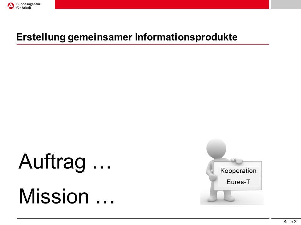 Seite 23 EURES-WiKi – Die Wissensbasis der EURES-Berater EURES Grenzgängerinformation