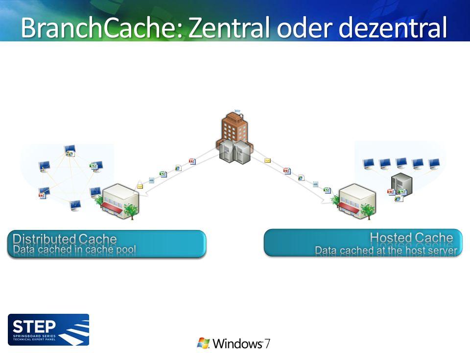BranchCache: Zentral oder dezentral Enterprise