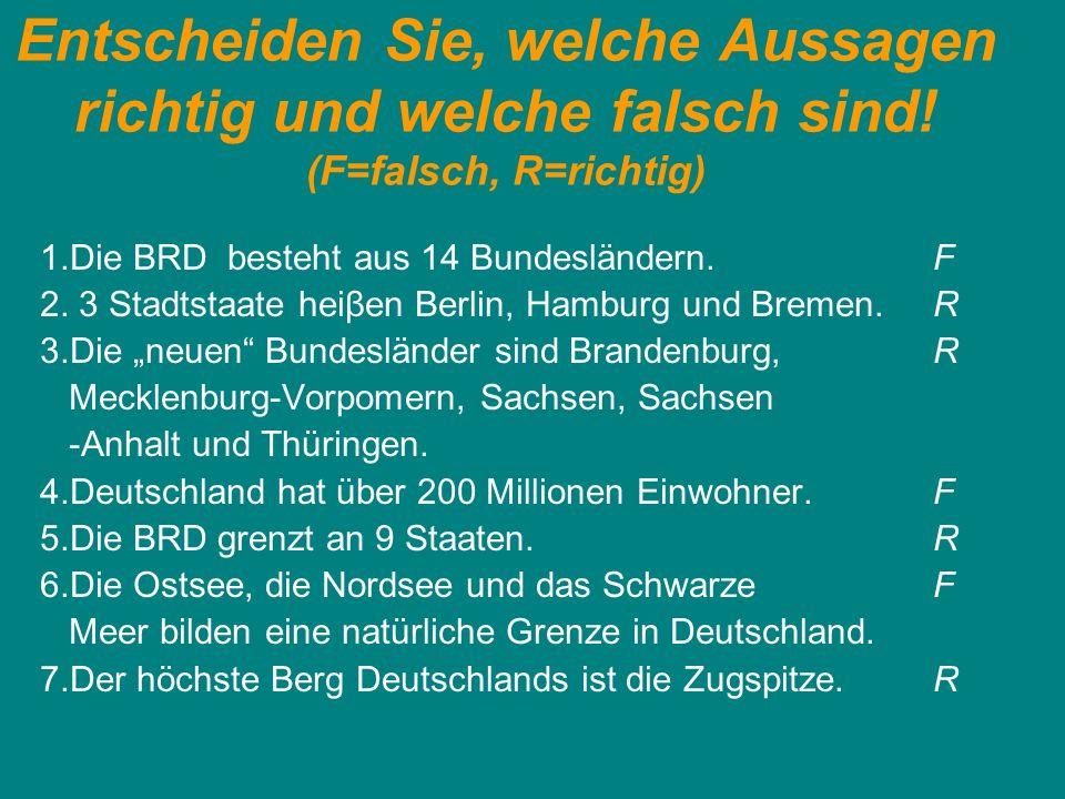 Beantworten Sie die Fragen.1. Wie war die Situation in Deutschland nach dem dem 2.