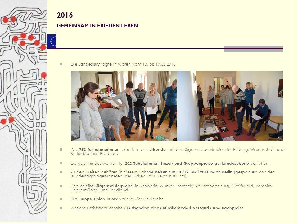 85 Arbeiten von 132 SchülerInnen wurden nach Berlin zur Bundesjury weitergesandt.
