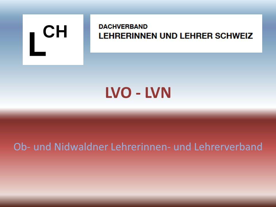 Ablauf Organigramm LVN Organisation LVO Mitglieder Bildungspolitik Standespolitik Einsatz LVO / LVN / LCH Dienstleistungen
