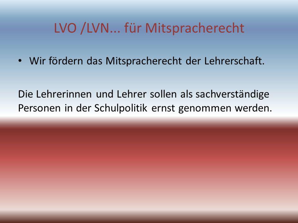 LVO /LVN...