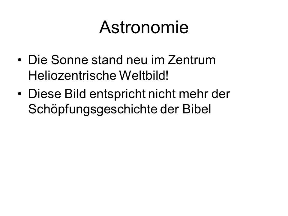 Astronomie Die Sonne stand neu im Zentrum Heliozentrische Weltbild.