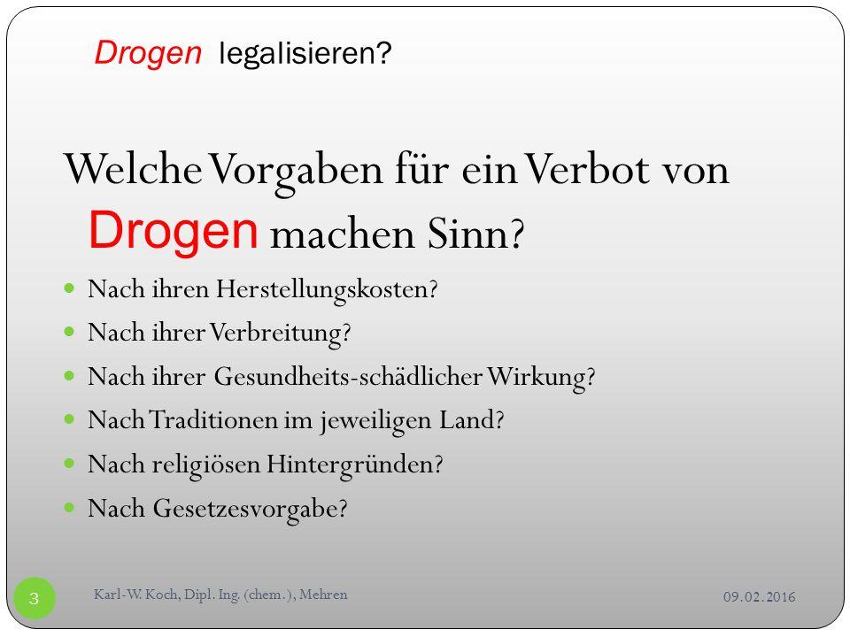 09.02.2016 Karl-W. Koch, Dipl. Ing.