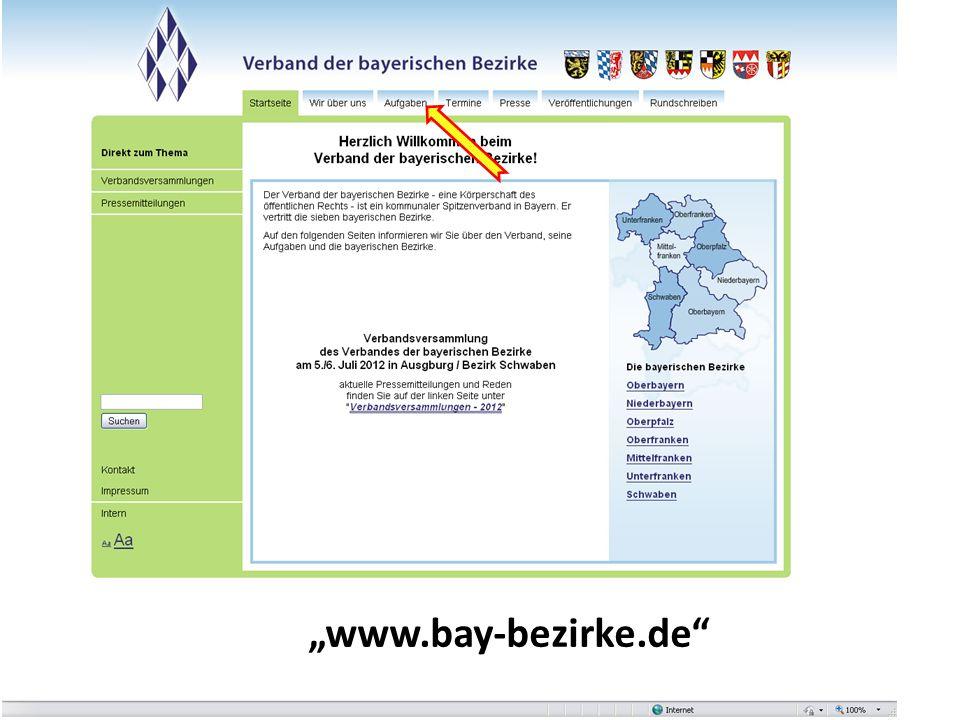 """""""www.bay-bezirke.de"""""""