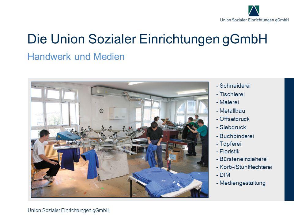 Ausschnitt Unterweisungsmaterial der USE Union Sozialer Einrichtungen gGmbH