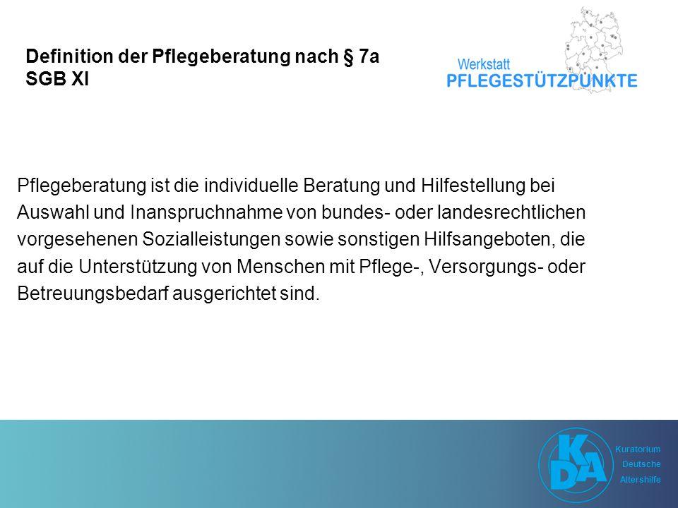 Kuratorium Deutsche Altershilfe Kuratorium Deutsche Altershilfe Was ist Care Management.
