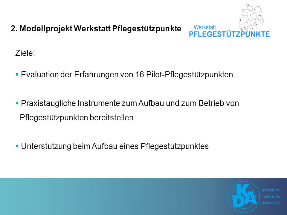 Kuratorium Deutsche Altershilfe Kuratorium Deutsche Altershilfe 2.