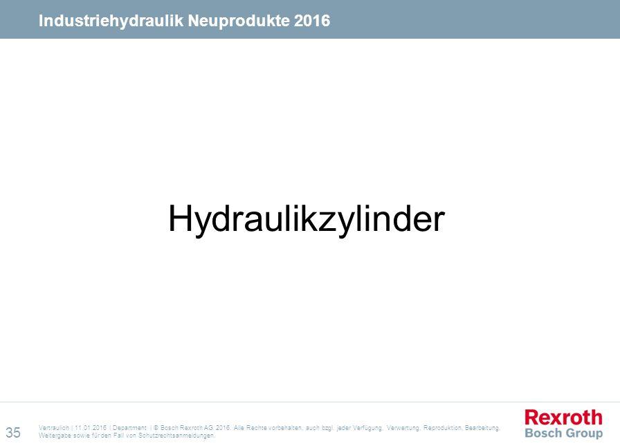 Vertraulich | 11.01.2016 | Department | © Bosch Rexroth AG 2016. Alle Rechte vorbehalten, auch bzgl. jeder Verfügung, Verwertung, Reproduktion, Bearbe