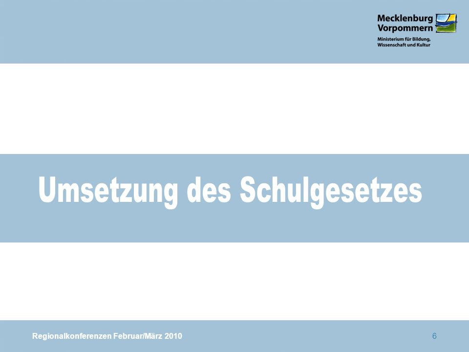 Regionalkonferenzen Februar/März 201067 Vergleich Landeswerte mit dem SSA Greifswald Schwerin, 28.