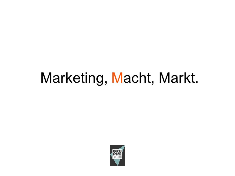 Werbung oder Marketing? MarketingMarkeKommunikationZukunftTrends