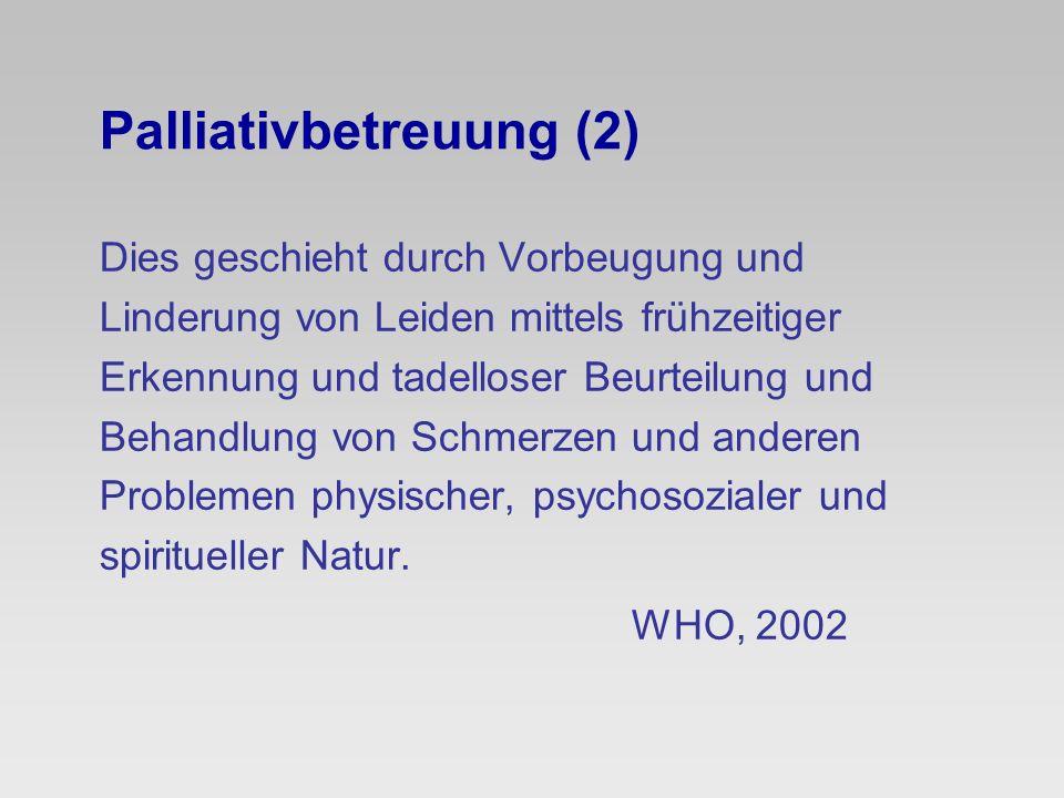 Leiden körperlich spirituell psycho- sozial