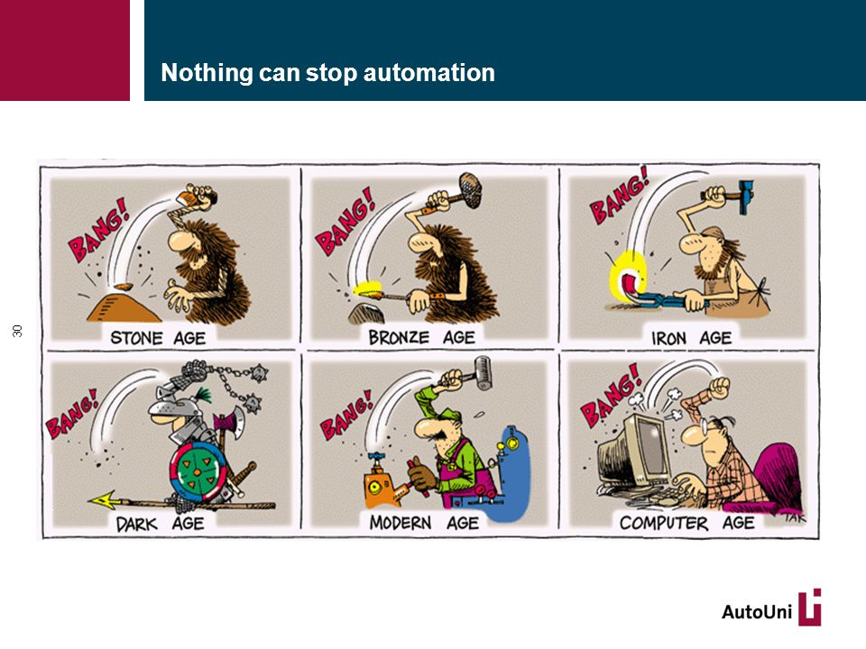 Nothing can stop automation 30
