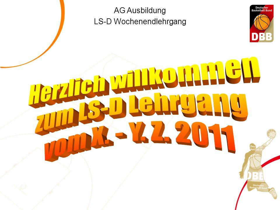 AG Ausbildung LS-D Wochenendlehrgang