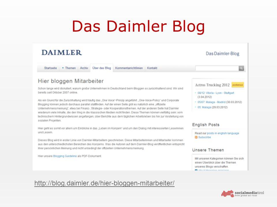 Das Daimler Blog http://blog.daimler.de/hier-bloggen-mitarbeiter/