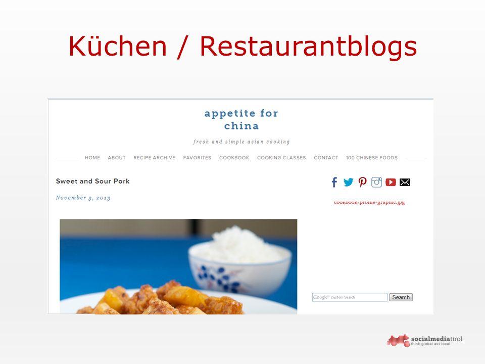 Küchen / Restaurantblogs
