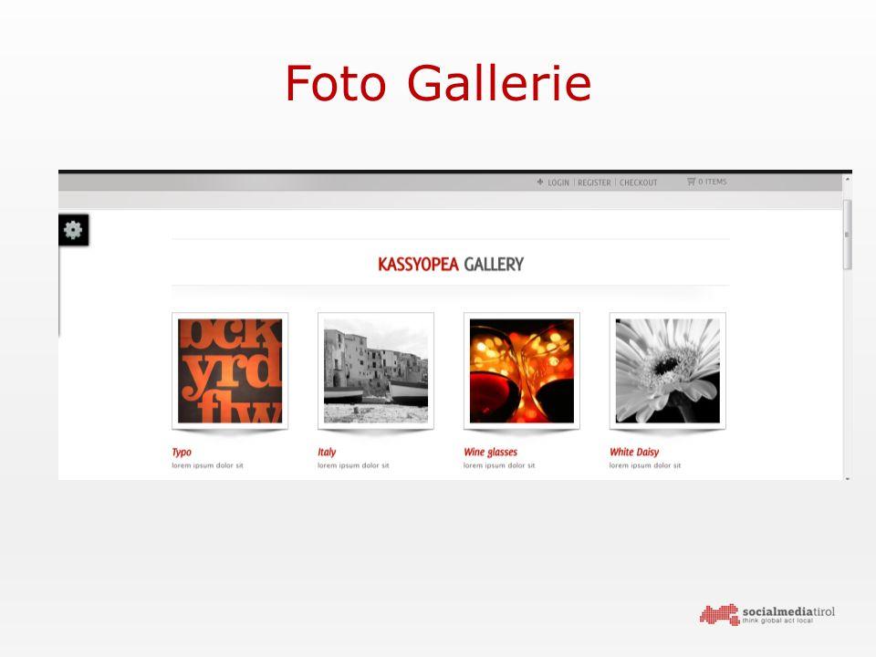 Foto Gallerie
