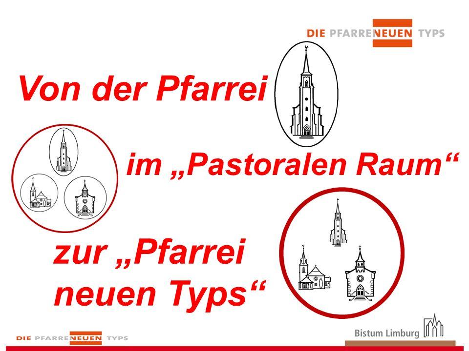 Von der Pfarrei Kirchenrechtliche Verwaltungseinheit -unter Leitung eines Pfarrers -bzw.