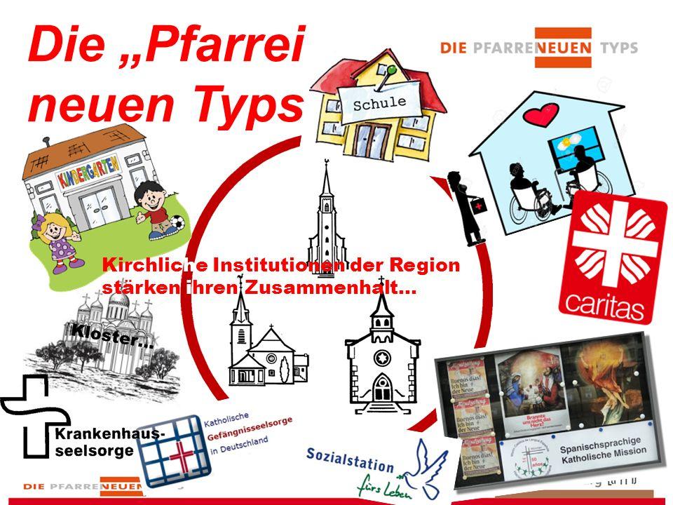 """Die """"Pfarrei neuen Typs Kirchliche Institutionen der Region stärken ihren Zusammenhalt… Kloster…"""