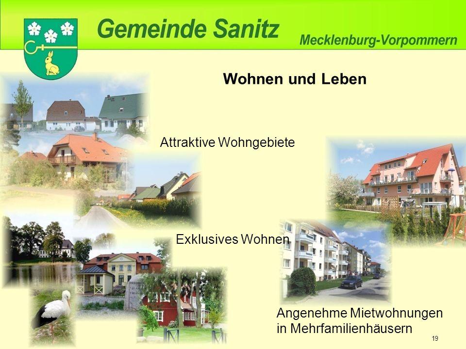 Wohnen und Leben Attraktive Wohngebiete Angenehme Mietwohnungen in Mehrfamilienhäusern Exklusives Wohnen 19