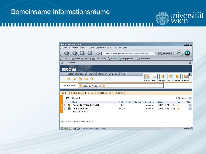 Gemeinsame Informationsräume