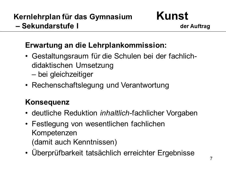 Kernlehrplan für das Gymnasium – Sekundarstufe I Ein Phänomen wird in verschiedenen Fächern parallel aus verschiedenen Blickwinkeln beleuchtet.