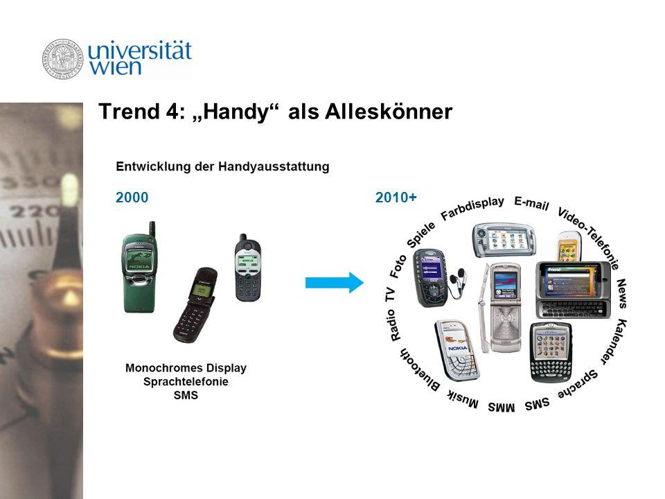 """Trend 4: """"Handy als Alleskönner 20002010+"""