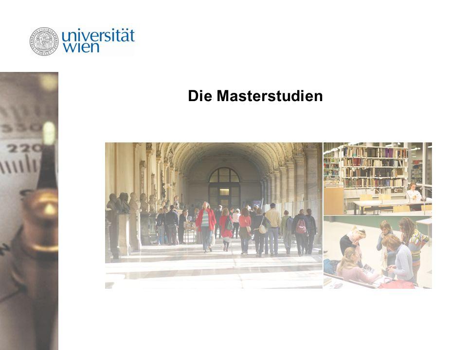 Die Masterstudien