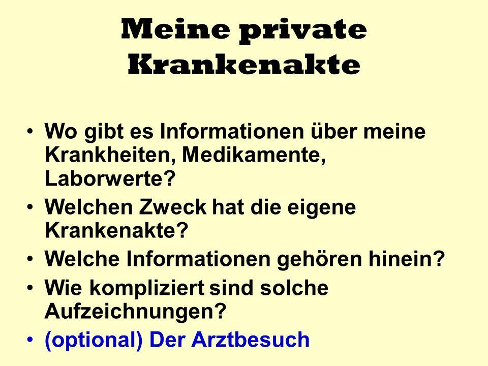 DIE EIGENE KrankenAKTE Anschlussheilbehandlung vonbis in Bad….. Entlassbericht der AHB
