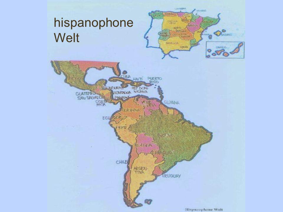 hispanophone Welt