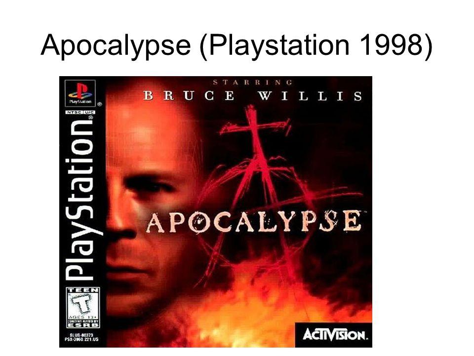 Apocalypse (Playstation 1998)