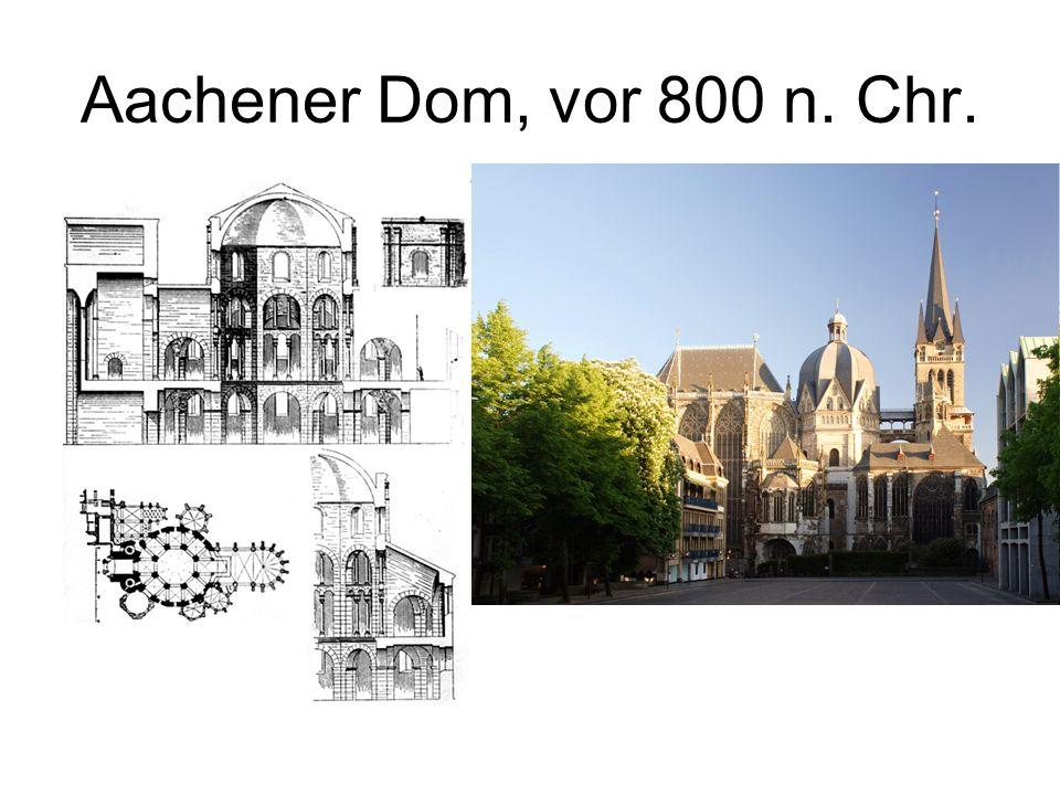 Aachener Dom, vor 800 n. Chr.